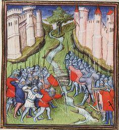 Hundred Years War Timeline 1351 - 1355