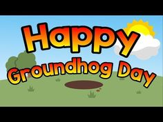 8 Groundhog Day Videos for Kids - Teach Junkie Kindergarten Groundhog Day, Groundhog Day Activities, Happy Groundhog Day, Music For Kids, Kids Songs, February Song, Calendar Songs, Jack Hartmann, Holiday Song