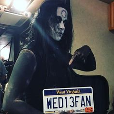 """Wednesday 13 • """"  Thanks West Virginia for a great show!! See ya..."""