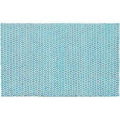sweater pattern silk-wool rug 3'x5'  | CB2