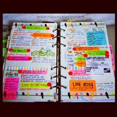 My pages last week! :) still very messy, oh well. Haha #myweek #filofax…