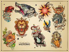 old school tattoo game - Pesquisa Google