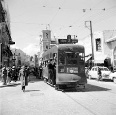 Tramway Beirut, leading to Martyrs Square [1930s]