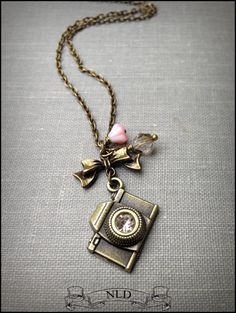 Camera Necklace Photography Necklace by nathalielynndesigns, $14.99