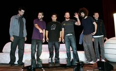 Photo of Linkin Park for fans of Linkin Park 11755885 Chester Rip, Linkin Park Chester, Charles Bennington, Chester Bennington, Great Bands, Cool Bands, Joe Hahn, Rob Bourdon, Mike Shinoda