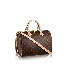 Speedy 30 mit Schulterriemen Monogram Canvas - Handtaschen   LOUIS VUITTON  Sac De Ville, Sac dec116a0702