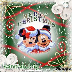 Mickey and Minnie Celebrate Christmas 2012 Together and forever