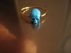 Art ring made of reworked IKEA plastic kitchen spoon