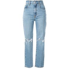 Ripped Mom Jeans, Red Jeans, Jeans Pants, Gothic Clothing Mens, Modest Clothing, Casual Look For Women, Palazzo Pants Plus Size, Flannel Lined Jeans, Nobody Denim