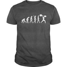 Fitness Evolution mens T-Shirts, Hoodies. GET IT ==► https://www.sunfrog.com/Fitness/Fitness-Evolution-Dark-Grey-Guys.html?id=41382