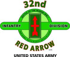 "32nd Infantry Division ""Red Arrow"" United States Army Shirt"