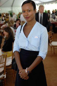 Shala Monroque, a lovely St. Lucian woman