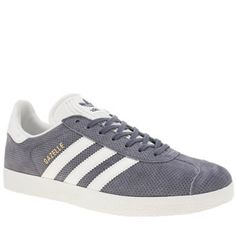 womens adidas lilac gazelle perforated suede trainers