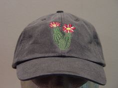 FLOWERING CACTUS Hat One Embroidered Wildlife Cap от priceapparel