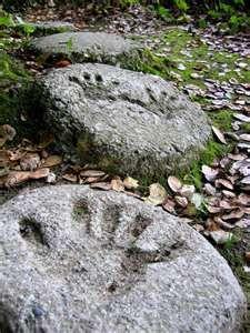 children garden idea... step stones