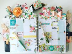 Owls + Planning, 2 of my favorite things!