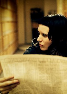 "Rooney Mara as Lisbeth Salander in ""The Girl with the Dragon Tattoo"" (2011)"
