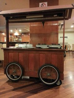 Food Display Cart