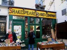 Iconic bookshop in Paris