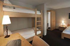 Das Familienzimmer im Hotel Handeck, Guttannen