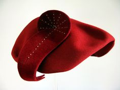 1954 hat made of wool and felt.