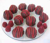 Raspberry Chocolate Truffles Picture