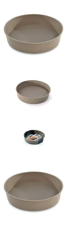 bniw Chicago Town Metallic Professional Non-stick Pizza Pan 37 X 2 Cm