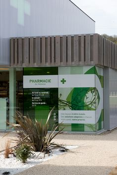 Pharmacy Store, Le Havre, Apothecary, Packaging Design, Signage, Architecture Design, Interior Design, Outdoor Decor, Dreams