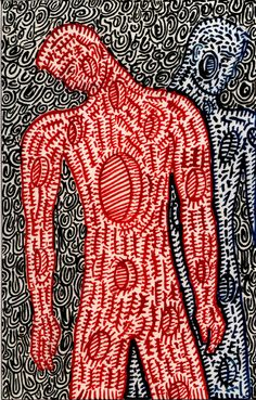 Righteous Pierce Job by Will Northerner Body Mapping, Process Art, Fingerprints, Outsider Art, Mail Art, Art Therapy, Paper Design, Surface Design, Fashion Art