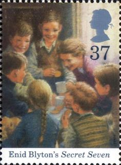 Birth Centenary of Enid Blyton 37p Stamp (1997) Secret Seven
