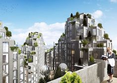 Bjarke Ingels' firm has unveiled designs for a residential development in Toronto, reminiscent of the housing complex built by Moshe Safdie in the 1960s