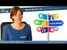Social Media Marketing For Podiatrists - http://www.highpa20s.com/link-building/social-media-marketing-for-podiatrists/