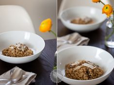 bella eats - sharing food + photography from charlottesville va - mushroom barley risotto