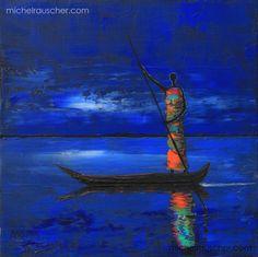 Michel RAUSCHER | Peintures - Huile sur toile - 30x30 cm -2012