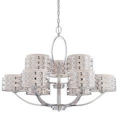 Nuvo Lighting 60/4 9-Light Harlow Chandelier