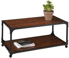 Transform the atmosphere of any living room environment by choosing this Home Decorators Collection Industrial Empire Black Coffee Table. Decor, Furniture, Living Room Furniture, Table Furniture, Home Decorators Collection, Table, Furniture Side Tables, Black Coffee Tables, Coffee Table