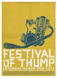 Festival of thump poster