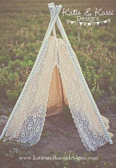 Burlap Lace TeePee Playroom Tent Photography Prop Wedding Decoration Photo Booth katie and kassie 143 etsy & I donu0027t know what these lace teepees are for (ostensibly a little ...