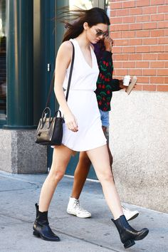 Kendall Jenner's Wardrobe Must-Haves, Decoded #refinery29 http://www.refinery29.com/2014/11/77136/kendall-jenner-birthday-outfit-pictures#slide2 The Alexander Wang Bootie You know that one pair of boots you favor above all others on your shoe rack? These are Kendall's, and there's nary an outfit she won't pair them with.