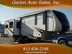 2016 New Skyline LAYTON Trident Y359RL Fifth Wheel in Indiana IN.Recreational Vehicle, rv, SKYLINE LAYTON Trident Y359RL, Here at Gerton Auto Sales we''re very excited to introduce the Layton Trident series fifth wheels for 2016. The Trident series is situated at the opening price range for entry level fifth wheels yet packed with so much value it competes with many coaches far above this price range. The distinctive decor and many unique features, such as the split storage queen bed and the…