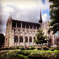 Église Notre-Dame du Sablon / Kerk Onze-Lieve-Vrouw ten Zavel in Brussel, Brussels Hoofdstedelijk Gewest