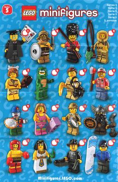lego minifigures series 5. Boys have 4 of these.