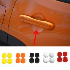Find More Stickers Information about For Jeep Renegade 2015 2016 Car Door Blow Rims Case Car Styling Auto Body Parts Accessories 4pcs,High Quality Stickers from Mopai Auto Accessories on Aliexpress.com