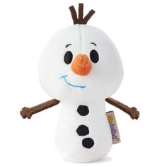 I got a little Olaf! I received this precious itty bitty in my Jingle Voxbox! 's line, are made with a nice size; they're perfect for decoration, I'll be sharing mine with a child this Christmas. Olaf Snowman, Disney Stuffed Animals, Disney Frozen Olaf, Le Roi Lion, Hallmark Ornaments, Disney Toys, Kids Toys, Cool Things To Buy, Plush