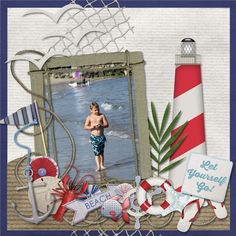 Sail Away by Created by Jill Scraps - Scrapbook.com