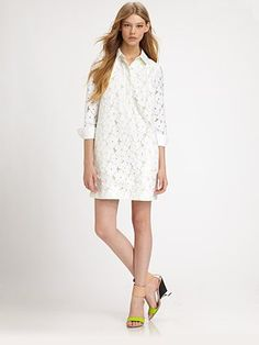 Diane Von Furstenberg Leeandra Lace Dress