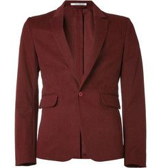 Carven Slim-Fit Cotton-Blend Blazer | MR PORTER