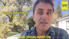 Happy Monday Tip 11 - Looking for Blessings. If you would like to learn how to be happier, these videos are brilliant! Happy Monday, Blessings, Exploring, Happiness, Learning, Videos, Tips, Youtube, Books