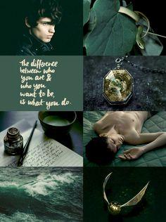 Harry Potter Moodboards : Regulus Black
