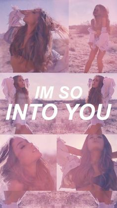 Imagem de ariana grande, into you, and wallpaper